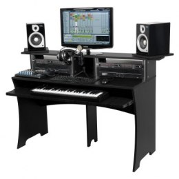 GLORIUS stanowisko DJ-skie Workbench Black