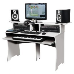 GLORIUS stanowisko DJ-skie Workbench White