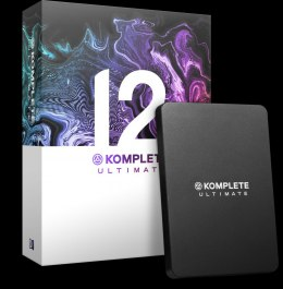 Native Instruments KOMPLETE 12 ULTIMATE UPGRADE z KOMPLETE SELECT pakiet oprogramowania