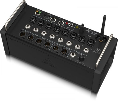 Behringer XR16 - 16-kanałowy mikser cyfrowy rack z routerem WiFi iOS/Android